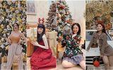"""Hotgirl Việt đình đám khoe ảnh Giáng sinh đẹp lung linh, visual nào cũng """"lấp la lấp lánh"""""""