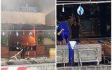 Hiện trường vụ nhà hàng hải sản bốc cháy ngùn ngụt sau tiếng nổ lớn
