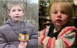 Nhà bị cháy lớn, anh trai 7 tuổi cùng bố cứu em gái 22 tháng