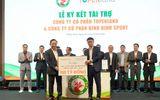 Topenland và Hưng Thịnh Land tài trợ cho bóng đá Bình Định