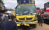 Hiện trường vụ tai nạn liên hoàn ở Lâm Đồng, 2 ngưởi tử vong tại chỗ
