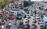 """Ngày đầu nghỉ Tết Dương lịch, bến xe, đường trên cao ở Hà Nội """"nghẹt thở"""""""