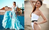 Vẻ đẹp quyến rũ của người mẫu giành vương miện Hoa hậu Hoàn vũ CH Czech mà không cần thi
