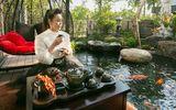 Có gì trong biệt thự sang chảnh 220m2, hồ cá Koi triệu đô của Nhật Kim Anh?
