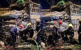 Nam Định: Kinh hoàng hiện trường vụ hai xe tải tông trực diện trên quốc lộ 10