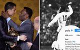 """Huyền thoại bóng đá Pele lên tiếng sau tin đồn thay đổi thông tin cá nhân vì bị Ronaldo """"vượt mặt"""""""