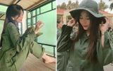 """Chuyện học đường - """"Diện"""" đồ quân sự, nữ sinh Sài thành Võ Ngọc Trân khẳng định vẻ đẹp thách thức mọi phong cách"""