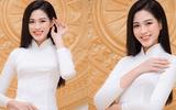 Hoa hậu Đỗ Thị Hà diện áo dài trắng tinh khôi, khoe vẻ đẹp đúng chuẩn con gái Việt Nam