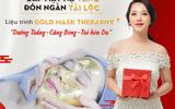 Xã hội - Chăm sóc da đón tết với mặt nạ vàng lá 24k Luxury Gold Therapy
