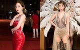 Tin tức giải trí - Quỳnh Nga khoe eo lưng mềm mại ở thảm đỏ chưa đủ, còn đeo cánh biểu diễn nóng bỏng quá sức