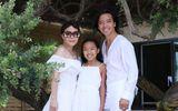 Việt Hương đăng ảnh gia đình, hạnh phúc tiết lộ vừa được chồng tặng một căn nhà