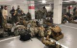 Tin thế giới - Vụ Vệ binh Quốc gia Mỹ phải nghỉ ở hầm để xe: Tổng thống Biden lên tiếng xin lỗi