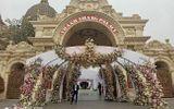 """Cộng đồng mạng - Choáng ngợp trước đám cưới """"khủng"""" trong lâu đài dát vàng ở Ninh Bình, thực đơn toàn món """"bên bển"""""""