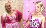 Cộng đồng mạng -  Nàng béo 154kg phẫu thuật cắt bỏ 80% dạ dày, lột xác kinh ngạc để giống búp bê Barbie