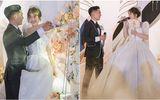 """Bố """"nhà người ta"""" tự thiết kế đám cưới tiền tỷ cho con gái, gần 300 xế hộp xếp chật kín đường"""
