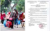 Chuyện học đường - ĐH Kiểm sát Hà Nội cho sinh viên nghỉ Tết sớm, hoãn thi kết thúc học kỳ vì dịch COVID-19