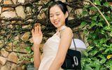 """Tin tức giải trí - Lần đầu xách hàng hiệu xuống phố, Hoa hậu Đỗ Thị Hà """"dìm"""" chiếc túi Gucci không thương tiếc"""