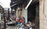 TP. HCM: Cháy lớn thiêu rụi 3 ki-ốt tại chợ Bình Triệu