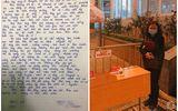 Xúc động dòng tin nhắn học trò viết cho cô hiệu trưởng bên trong khu cách ly ở Hà Nội