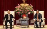 Tổng Bí thư, Chủ tịch nước thăm, chúc Tết Đảng bộ, chính quyền và nhân dân TP Hà Nội