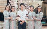 """Hòa Minzy khoe ảnh cả gia đình dịp Tết, em út """"soái ca"""" khiến cộng đồng mạng trầm trồ"""
