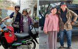 """""""Nghiện vi vu"""", cặp đôi U80 đưa nhau """"đi khắp thế gian"""" trên chiếc xe máy 30 tuổi"""
