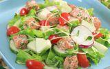 Đang đau đầu giảm cân sau Tết, chị em hãy làm món salad tuyệt đỉnh này
