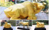 Trâu vàng Tân Sửu hút khách đặt mua ngày vía thần tài