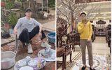 """""""Khoe"""" rửa 3 mâm bát ngày Tết, hotboy Nam Định khiến hội chị em vội vàng gọi tên """"chồng tương lai"""""""