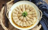 Bí đao cuộn thịt hấp thanh đạm, cả nhà có món ngon như nhà hàng