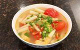 """Ăn - Chơi - Canh chua cá hồi nấu ngó sen thanh mát, cho bữa tối """"ngon hết sảy"""""""