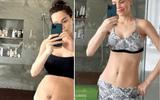 Hồ Ngọc Hà lần đầu khoe cận bụng bầu sau sinh, chỉ mất 3 tháng lấy lại vóc dáng khiến ai cũng trầm trồ