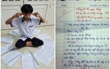 """Viết văn tả về trường cũ, cậu học trò có """"IQ vô cực"""" bị cô giáo bắt chép phạt 50 lần"""