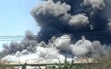 Tin trong nước - Bình Dương: Đám cháy lớn lan rộng 1.500m² nhà xưởng công ty may mặc