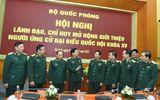 Tin trong nước - Bộ Quốc phòng giới thiệu hai Thứ trưởng ứng cử ĐBQH khóa XV