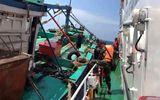 Nổ súng bắt tàu chở 3000 lít dầu lậu sau 40 phút truy đuổi trên biển