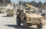Hàng chục xe tải chở thiết bị quân sự của Liên quân do Mỹ đứng đầu rầm rập tiến vào Syria