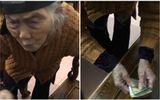 Biết tin cháu sắp đi làm xa, cụ bà 104 tuổi run run đưa cháu những đồng tiền chắt chiu