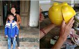 Nam sinh lớp 5 ủng hộ tiền mừng tuổi để bê tông hóa đường làng