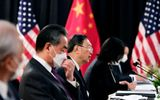 Cuộc đàm phán cấp cao Mỹ-Trung ở Alaska: Tranh luận căng thẳng ngay từ đầu