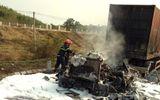 Tin tai nạn giao thông ngày 21/3: Xe máy bốc cháy sau va chạm, 1 người chết