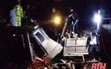 Hé lộ hiện trường vụ tai nạn thảm khốc ở Thanh Hóa, 7 người tử vong