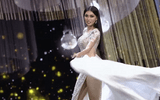 """Ngọc Thảo bị chê """"diễn lố"""" với màn trình diễn tại bán kết Miss Grand International 2020"""