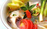 Canh chua cá hồi bổ dưỡng, thơm ngon cho bữa cơm cuối tuần