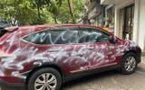 Người phun sơn trắng loang lổ khắp ô tô Honda CR-V ở Hải Phòng là ai?