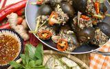 Ốc bươu nhồi thịt hấp sả thơm ngon, đổi vị cho cả nhà