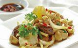Ăn - Chơi - Nấm bào ngư xào thịt rất bổ dưỡng, thêm bước này nấm càng giòn ngon