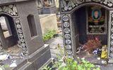 Tin trong nước - Truy tìm kẻ đập phá hàng loạt ngôi mộ trong nghĩa trang ở Hải Phòng