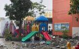 """Chuyện học đường - Vụ khối bê tông """"khủng"""" rơi xuống trường mầm non: UBND quận 4 thông tin chính thức"""