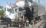 An ninh - Hình sự - Phú Yên: Xe tải đâm liên hoàn 5 phương tiện khi đang dừng đèn đỏ